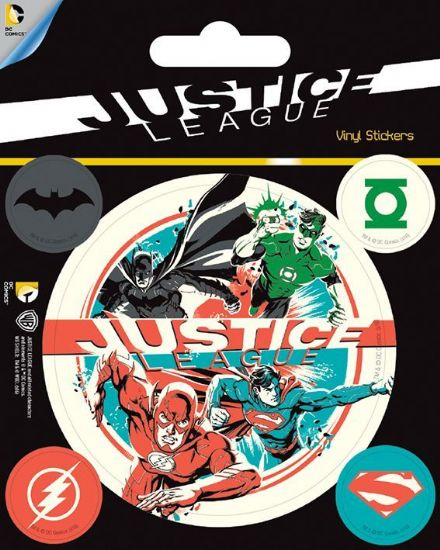 DC Justice Leagues Vinyl Stickers